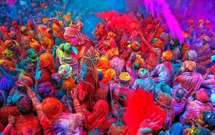 Colores De La India Imagenes De India Festival De Colores Holi