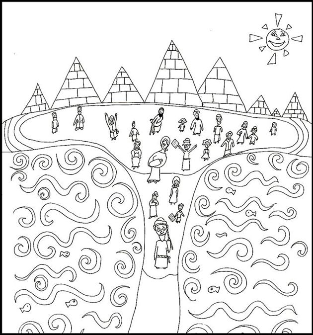 The Exodus Coloring Page Coloring Pages Butterfly Coloring Page