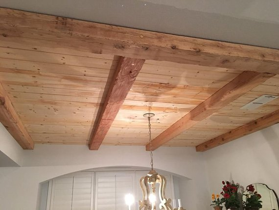 Shiplap No Lap Boards 50 Sqft Wood Ceilings Wood Plank
