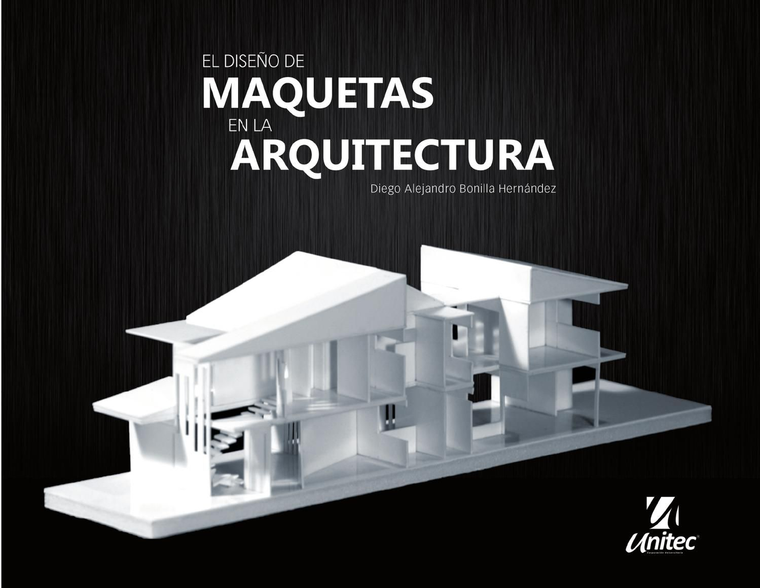 Dise o de maquetas en la arquitectura maquetas for Curso de diseno de interiores pdf
