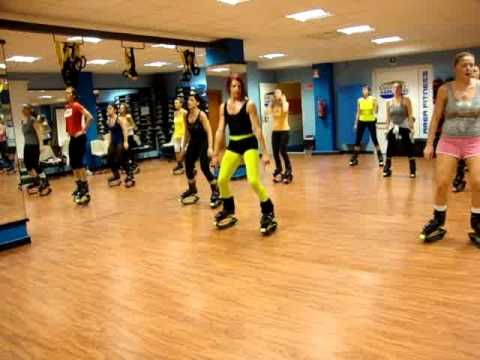 Kangoo Jumps Tried A Class Like This Last Night