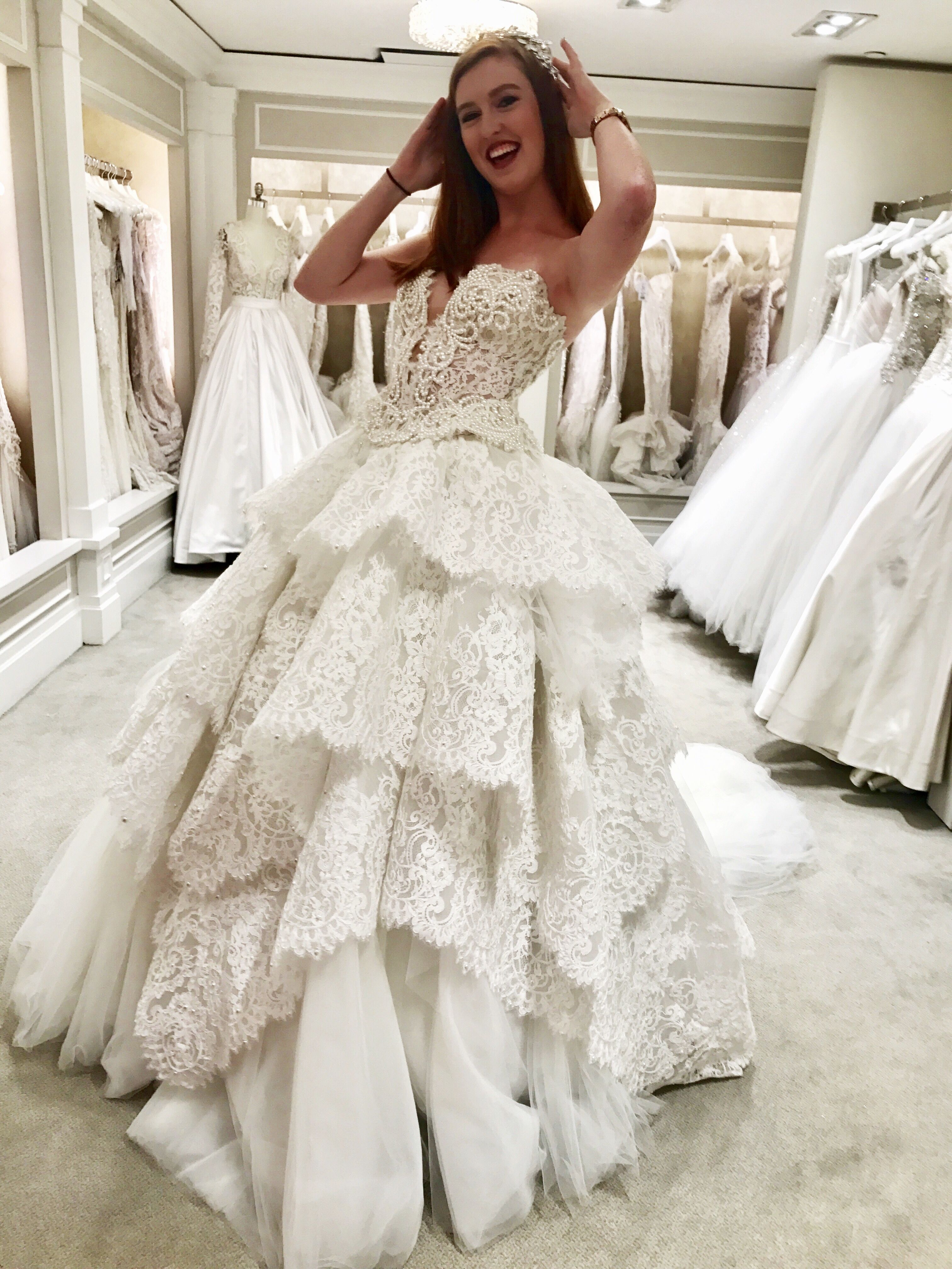 7570cfbce53c Pnina Tornai ballgown from Kleinfeld Bridal in New York City, home of tv  show Say Yes to the Dress. Come say hello on IG and FB at @bridalandbridle  and ...