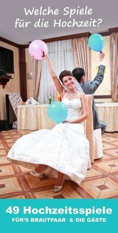 GENIAL: Die Top 50 der besten Hochzeitsspiele mit denen ihr bei jeder Hochzeitsfeier eine ausgelassene Stimmung zaubert