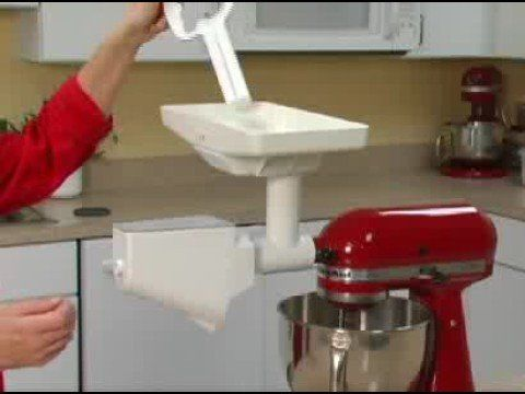 How To Assemble The Fruit Strainer On The Kitchenaid Google