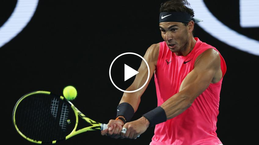 Watch The First Practice At The Center Court Of The Rafanadalacademy Kuwait