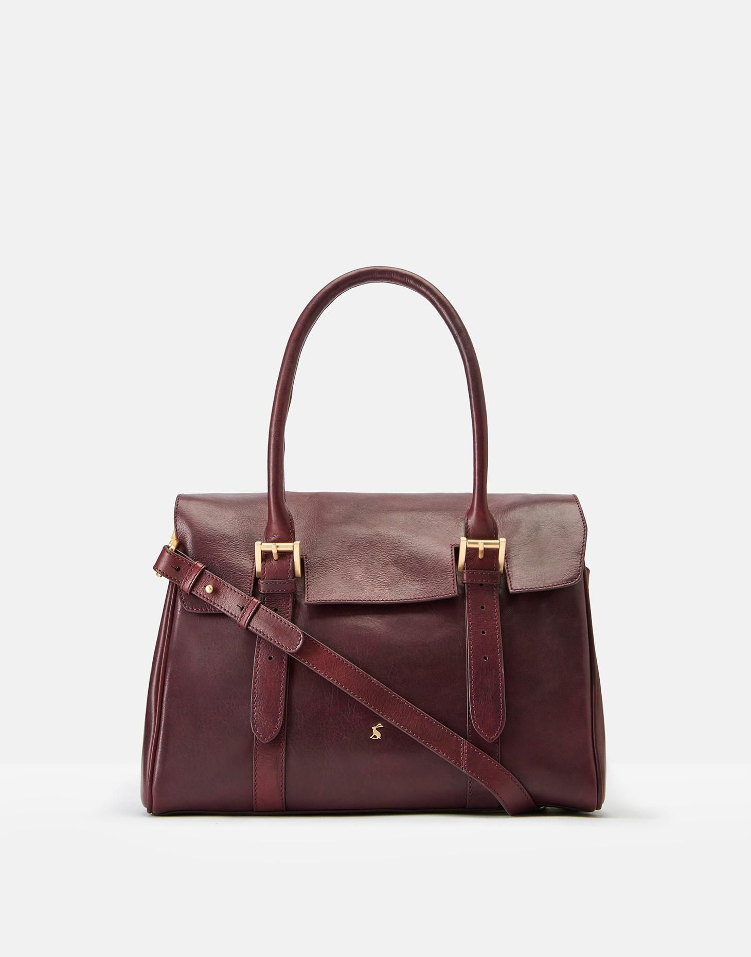 Durham Leather Tote One Size Joules Uk