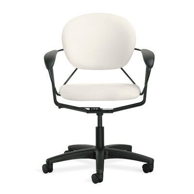 office chair upholstery. Steelcase Uno Mid-Back Desk Chair Casters / Glides: Standard Glides, Upholstery Color Office