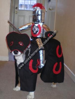 Coolest Homemade Dog Costume Knight And His Horse Best Dog