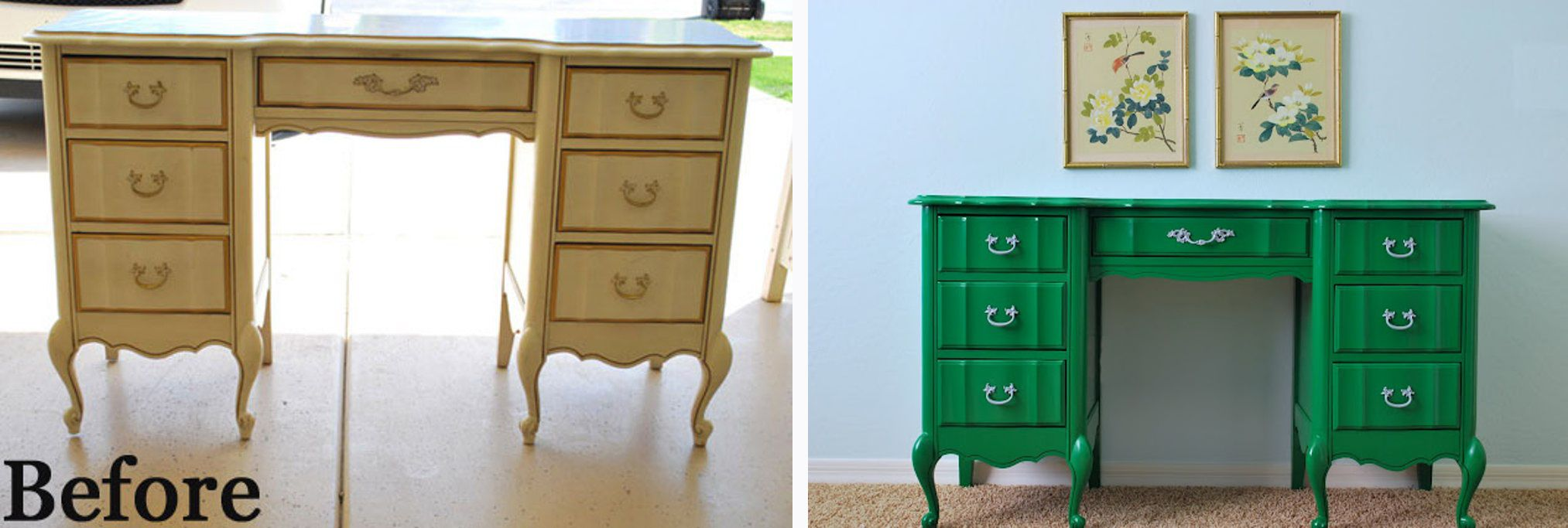 Painting furniture before and after - Latest Images About Painted Furniture U Accents On Pinterest Hale With Green Painted Furniture