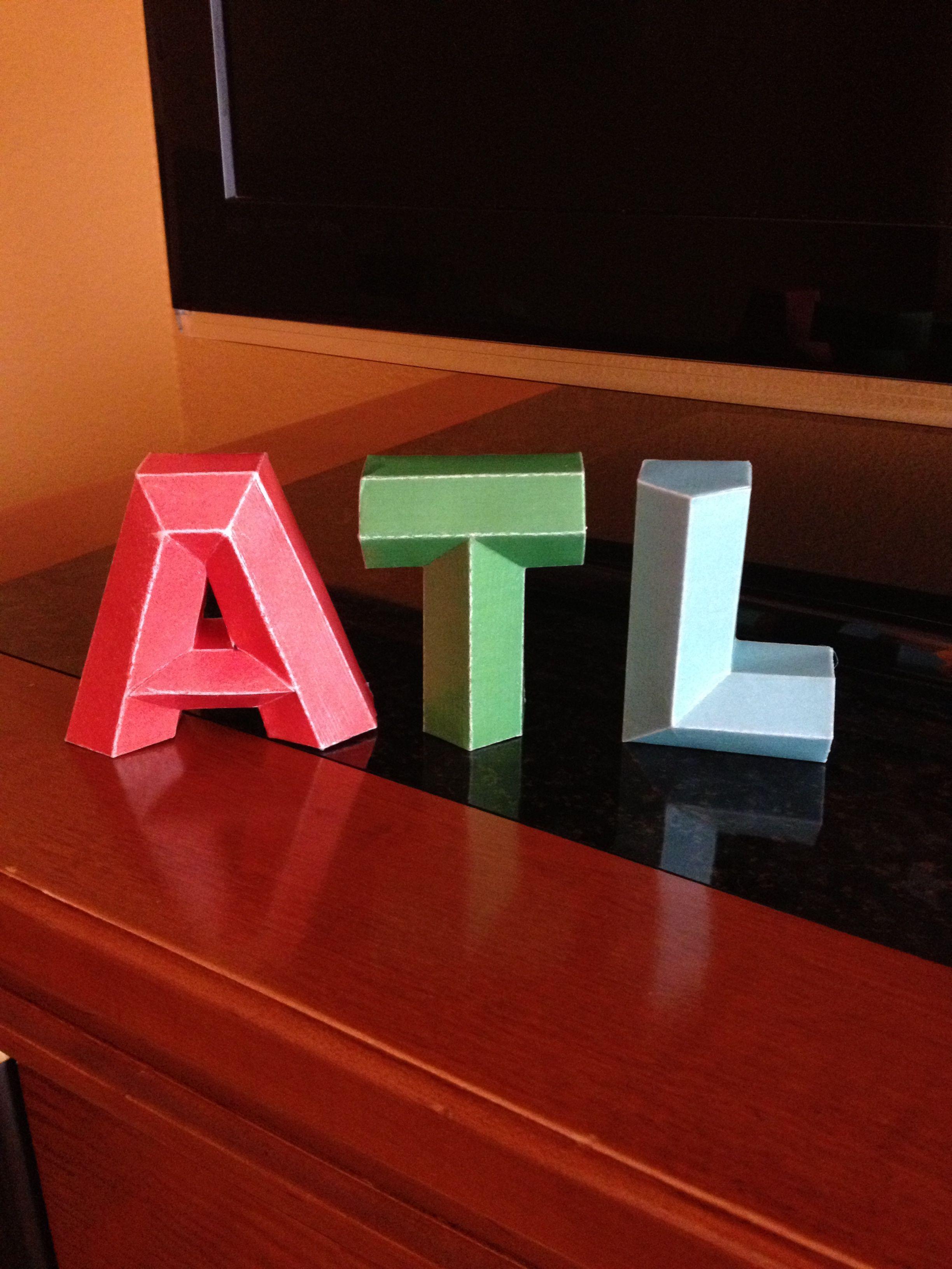3d Alphabet Templates Mr Printables Alphabet Templates 3d Alphabet Letter Paper