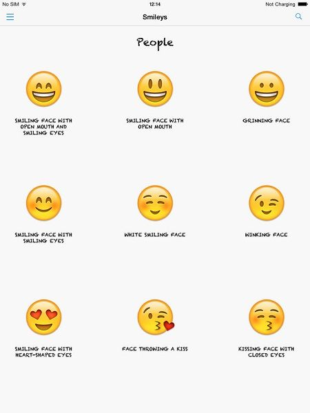 Smilies and meaning