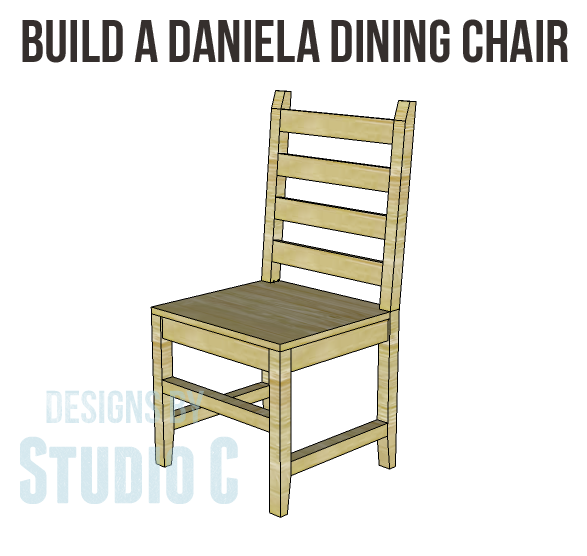 Build One Chair or Several with the Daniela Dining Chair Plans! I ...
