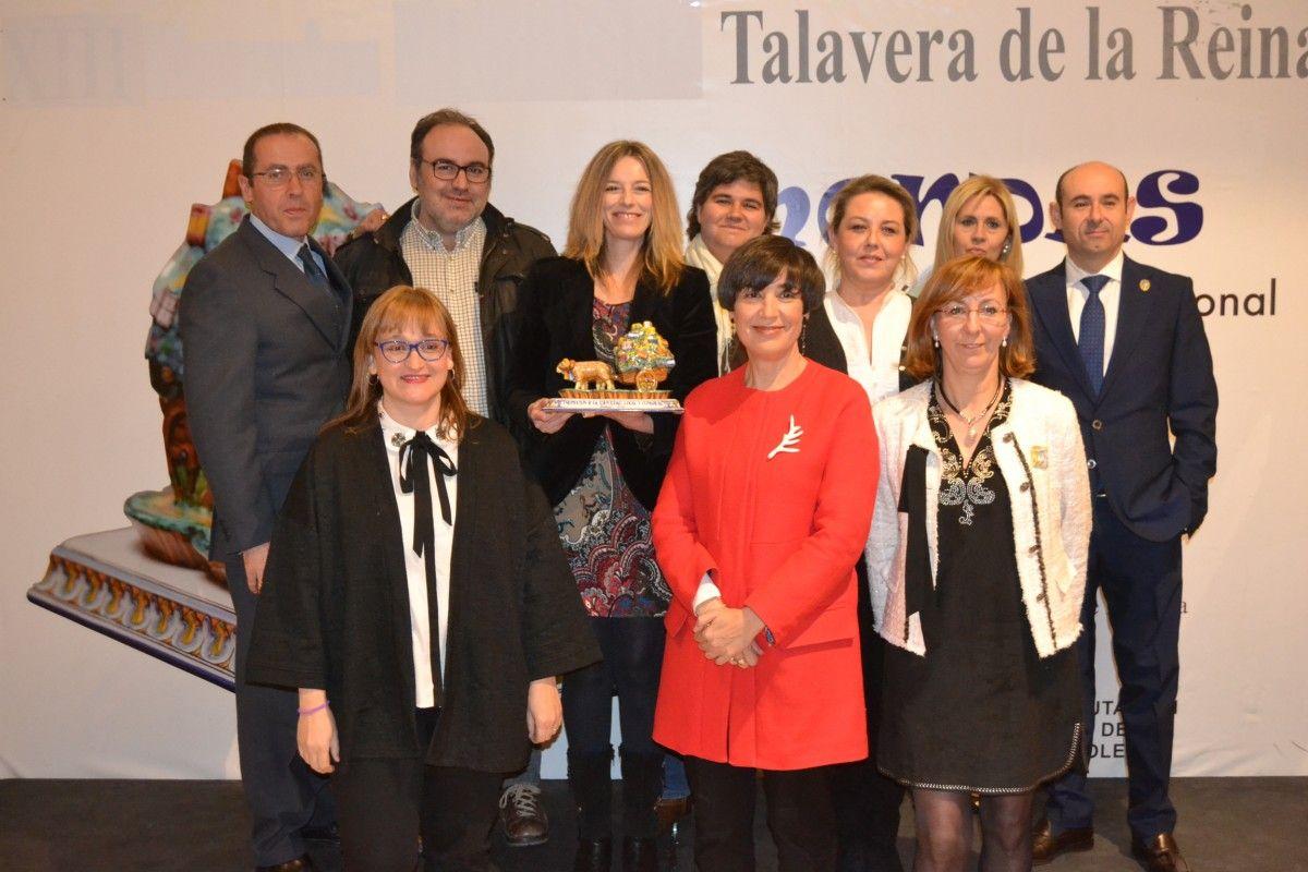 El equipo de Tierras de Cerámica agradece el Ciudad de Talavera