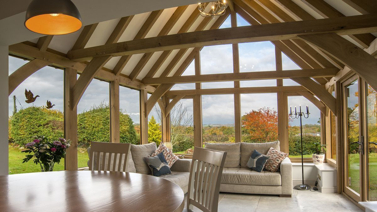 New Casestudy This Oak Garden Room Has Added A New Dimension To