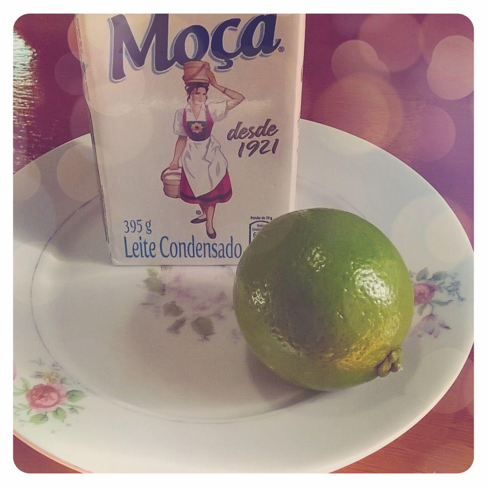 Bora testar um brigadeiro de limão...