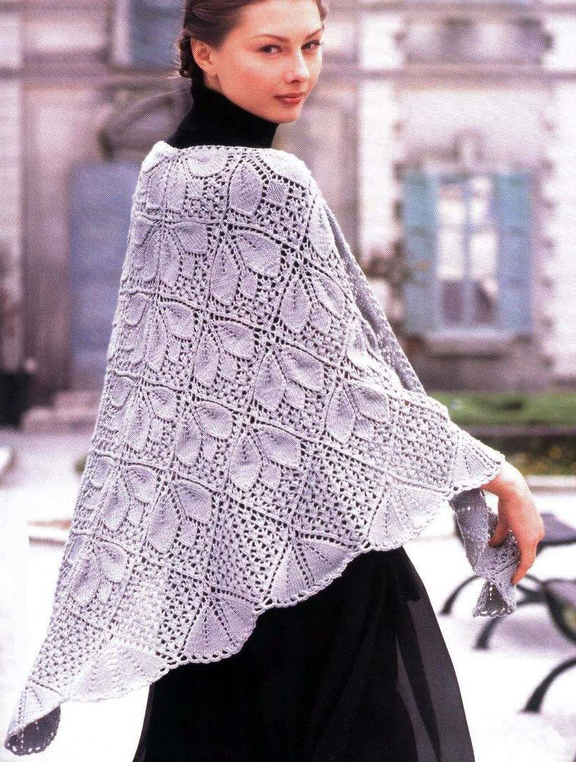graphs for this beautiful shawl  (makes me wish I could knit!!  Or crochet.  Or whatever)
