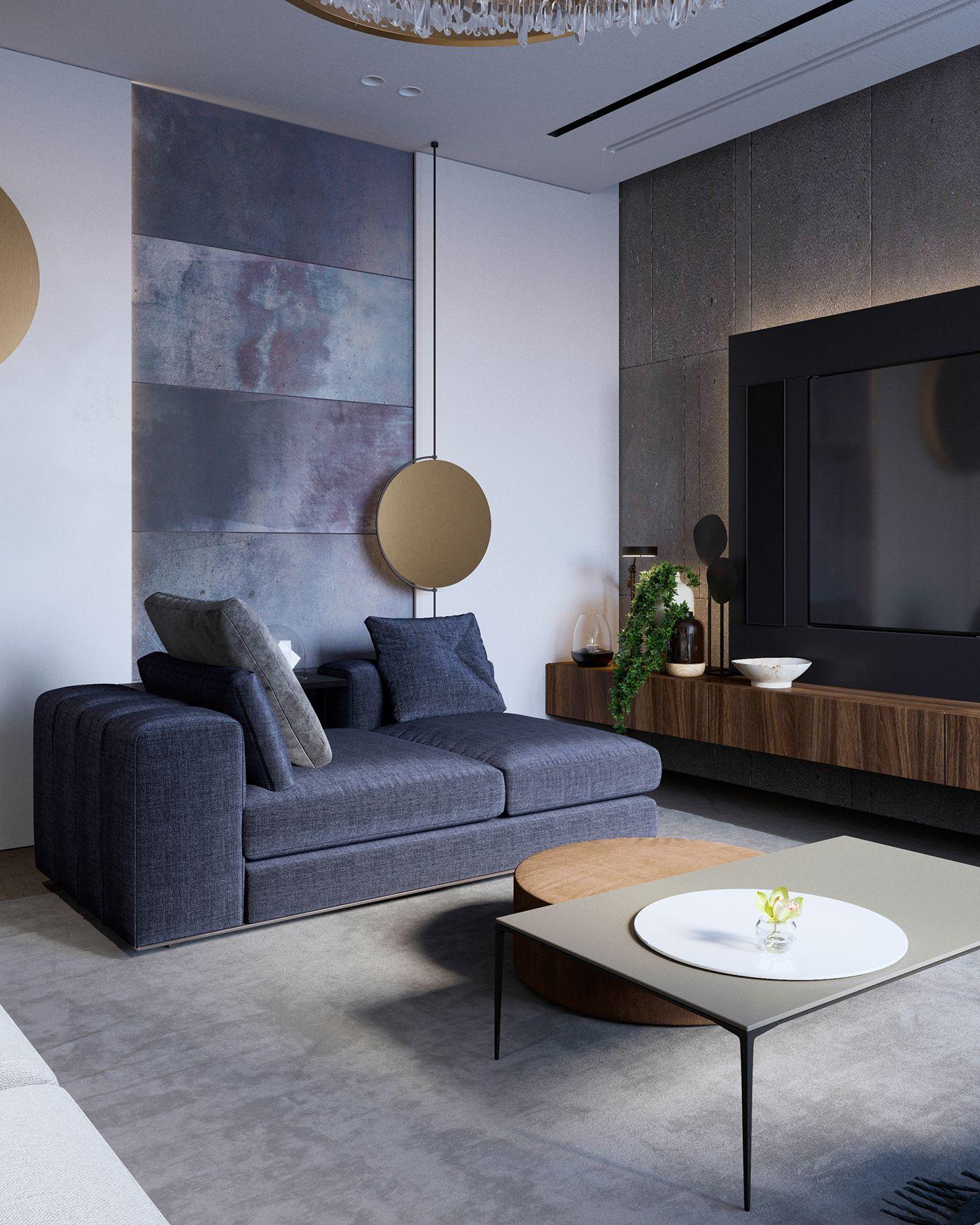 Modern Apartment In Moscow Modern Apartment Decor Minimalist