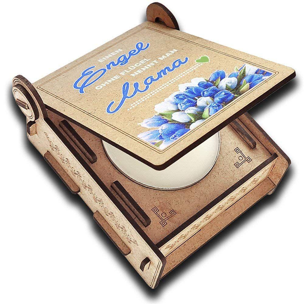 Geschenkbox /'Mama/' Muttertag Geburtstag Box Präsent Korb Geschenk Herz Gravur,