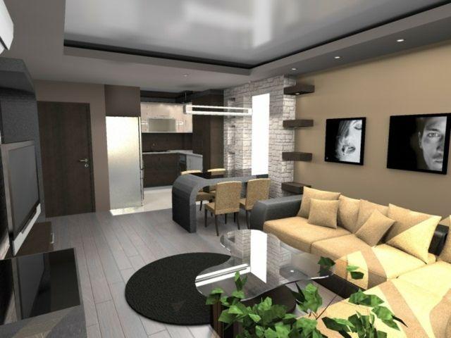 faux plafond pratique et esth tique tiny 39 livin 39 pinterest plafond design plafond et salon. Black Bedroom Furniture Sets. Home Design Ideas