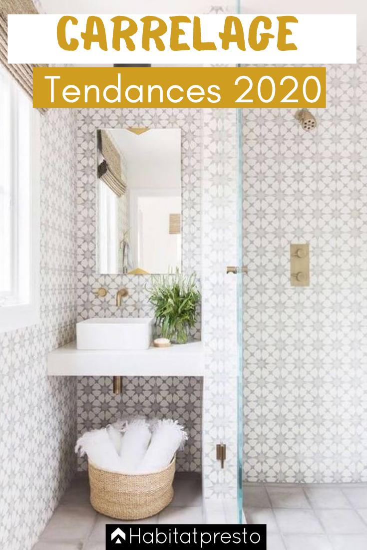 Tendances Carrelage 2020 7 Incontournables En 2020 Carrelage Salle De Bain Carrelage Mural Blanc