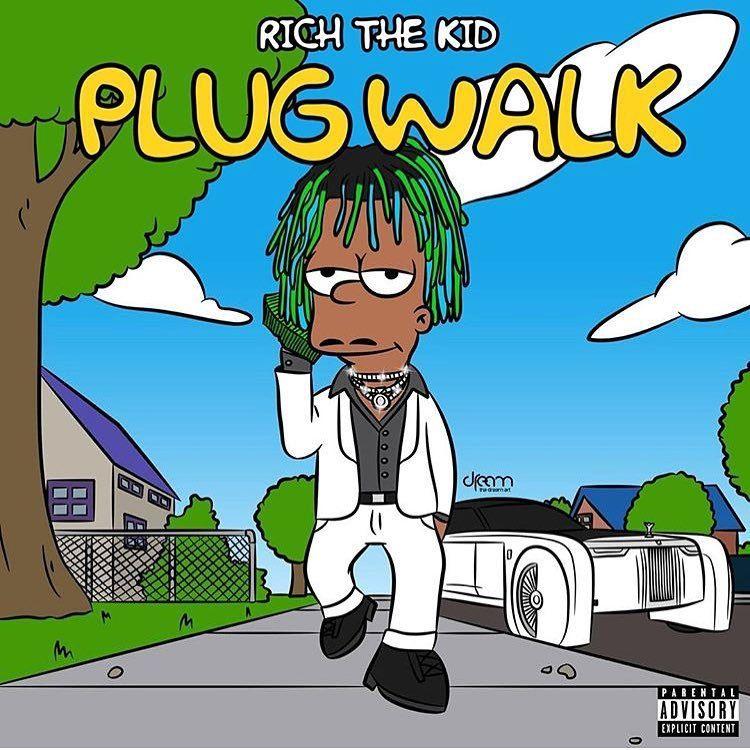 Plug Walk Rich The Kid Kids Reading Rich Kids Kids Cartoon rapper wallpaper rich kid