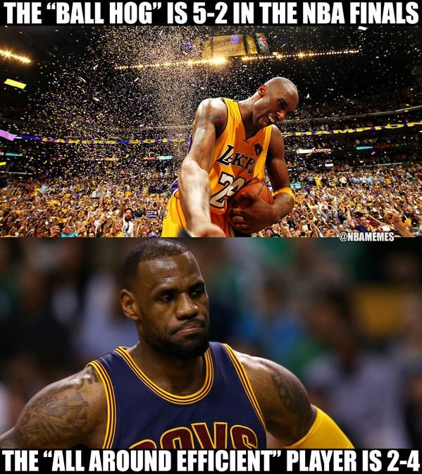 Home Page With Images Kobe Lebron Nba Funny