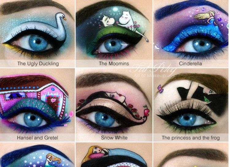 17 Over The Top Works Of Eye Shadow Art That Will Leave You Speechless Eye Makeup Art Cat Eye Makeup Makeup Illustration