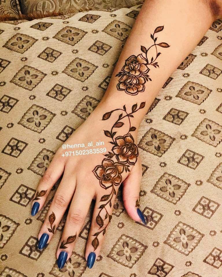 Pin By Manal M On Henna Hand Henna Henna Hand Tattoo Henna