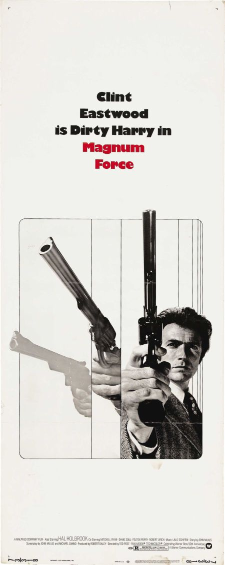 Art Prints Dirty Harry Magnum Force Clint Eastwood Minimalist Movie Poster