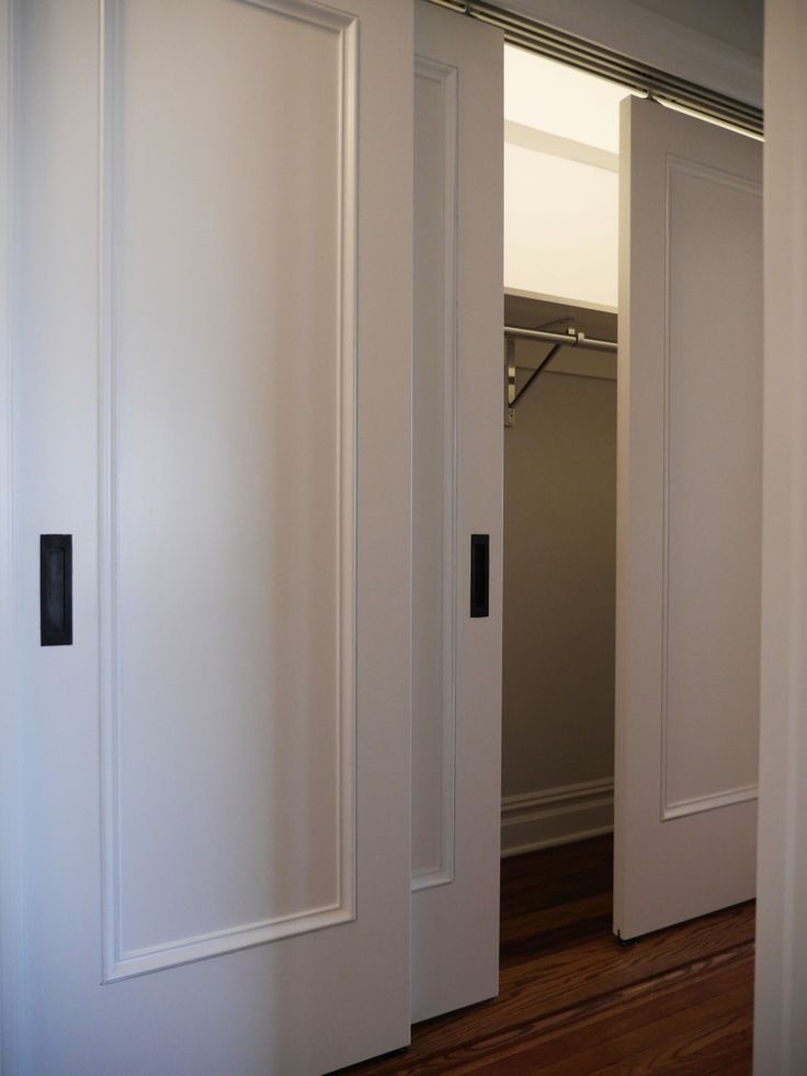 Sliding Closet Doors In This Apartment Renovation Aren T Only Visually Ealing But Also Practical And A Huge E Saver Paula Mcdonald Design Build