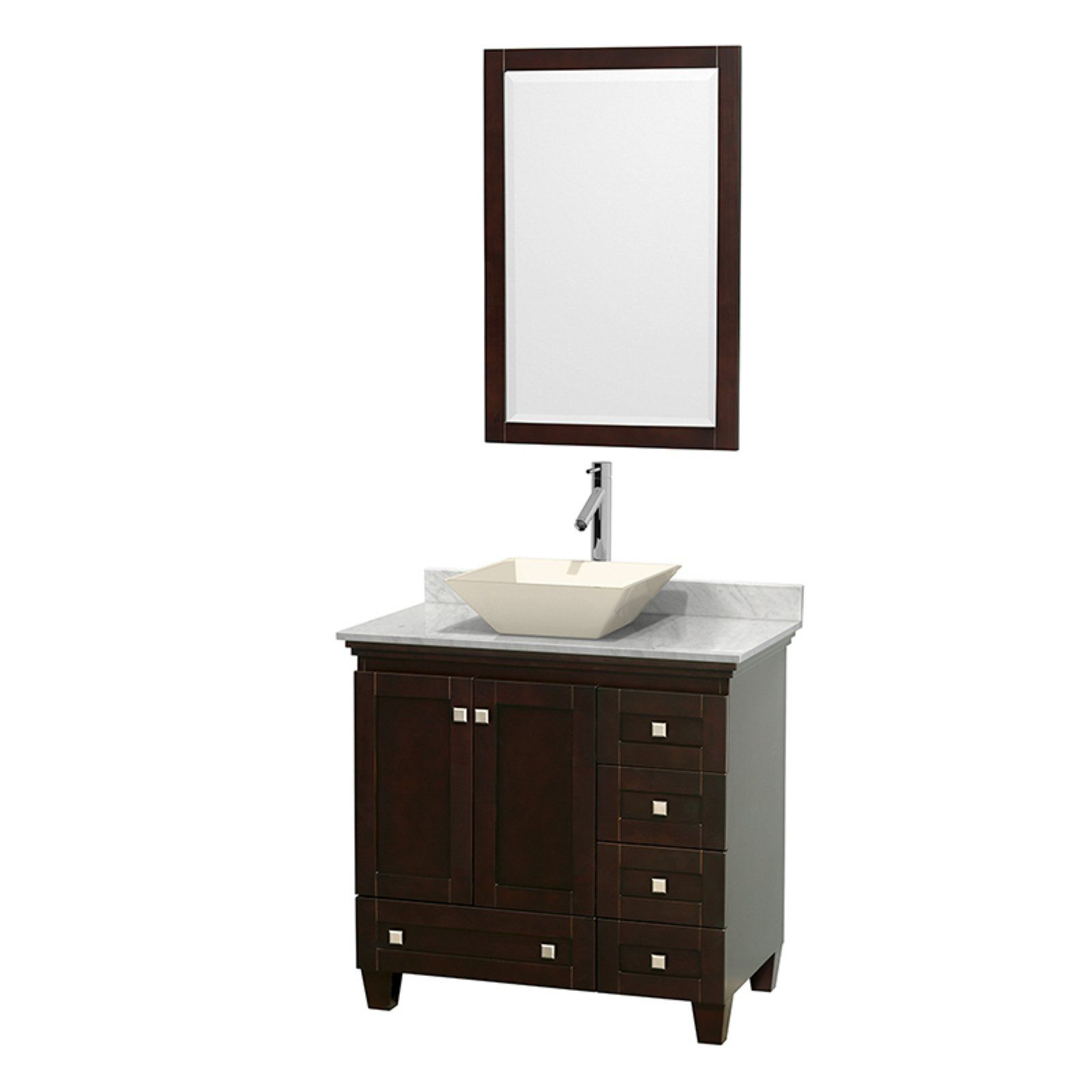 Wyndham Collection Wcv800036ses Acclaim 36 In Single Bathroom