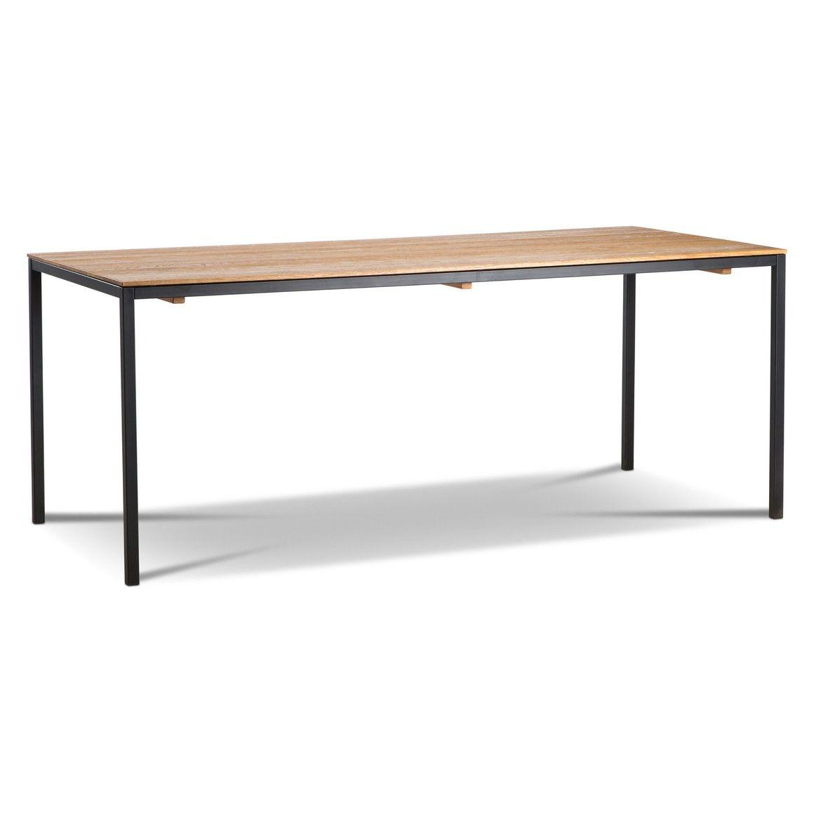 tisch brooklyn, eiche metall - 16218500 0 | home | pinterest, Esszimmer dekoo