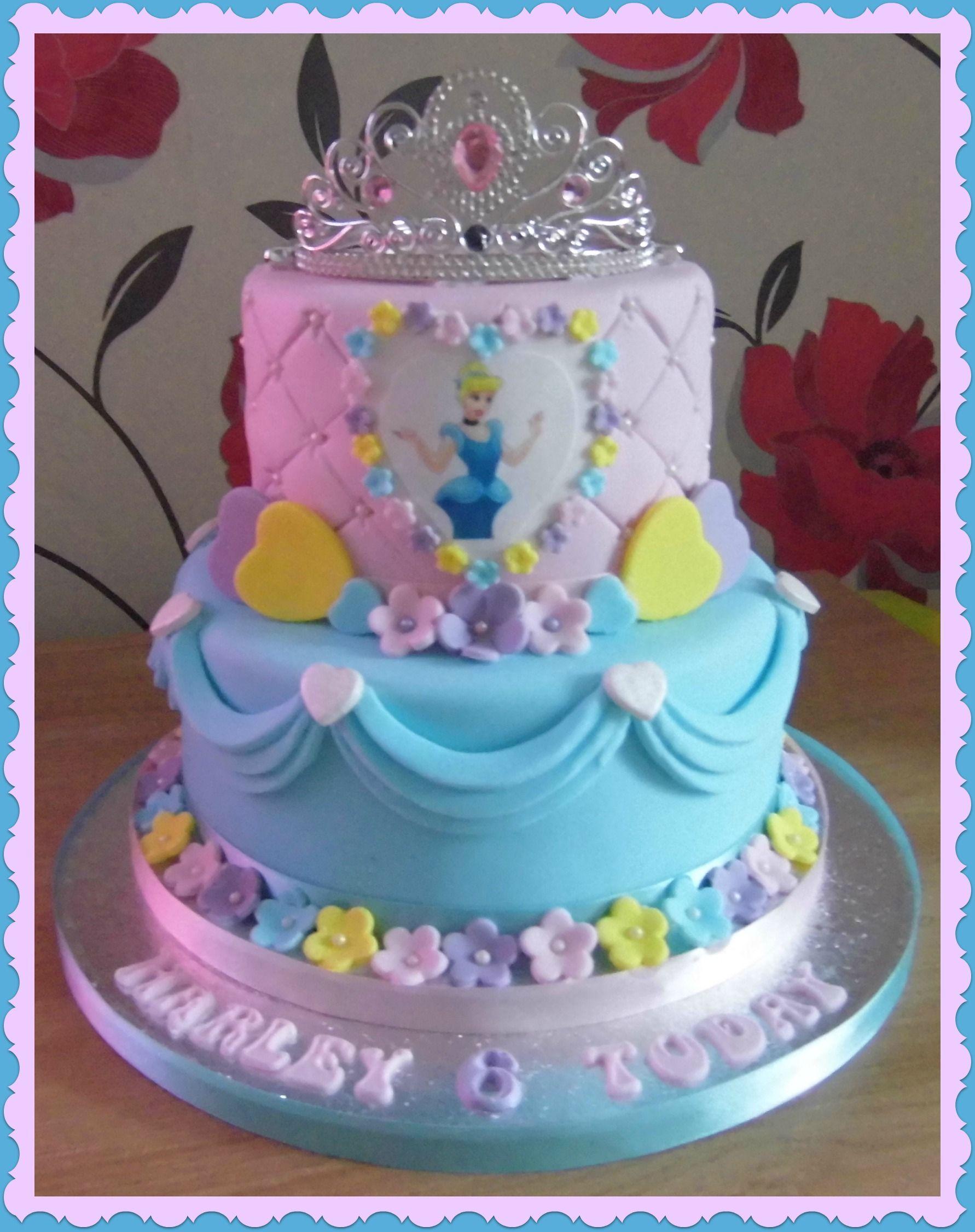 Princess Cake Disney Princess Birthday Cakes Princess Birthday