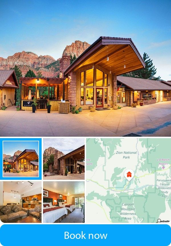 Cliffrose Lodge U0026 Gardens (Zion National Park, USA) U2013 Book This Hotel At