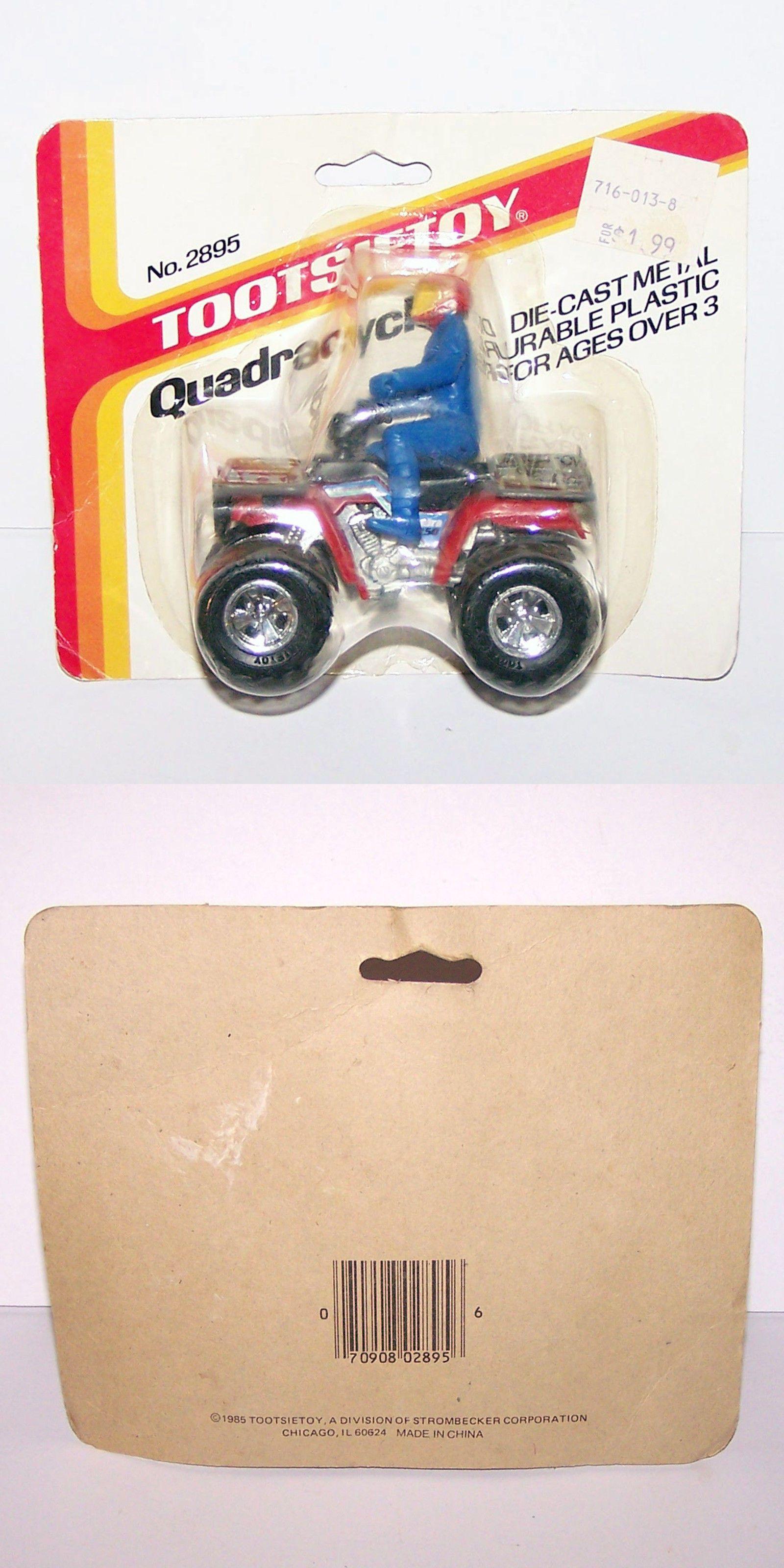Toys car and bike  NEW  Tootsie Toy Quadracycle ATV Wheeler  Bike Sealed Rare