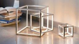 Lampe Led Cube A Poser Design De Sompex Delux Love Of The