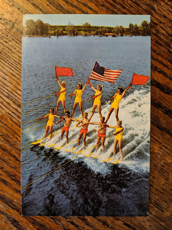 Water Skiers, Cypress Gardens, Florida Art Print | Art.com