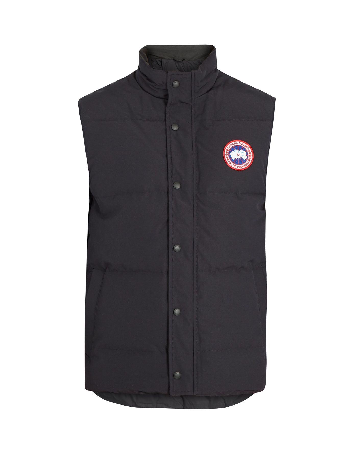 Canada Goose Garson Slim Fit Quilted Shell Down Gilet Black Modesens Canada Goose Slim Fit Quilted