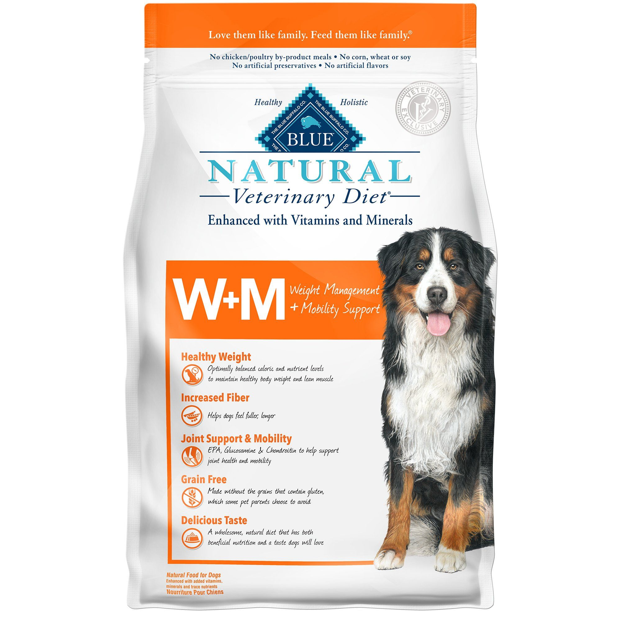 Blue Buffalo Blue Natural Veterinary Diet W M Weight Management