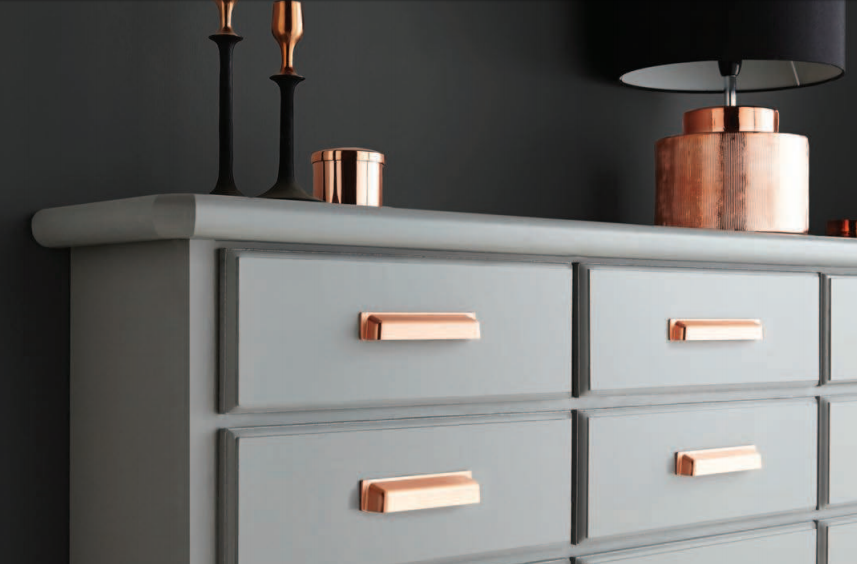 Brushed Copper Kitchen Cabinet Cup Handles Home Kitchen Handles