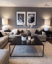 Fantastische gemütliche Wohnzimmer Design-Ideen, die Sie ausprobieren müssen -...