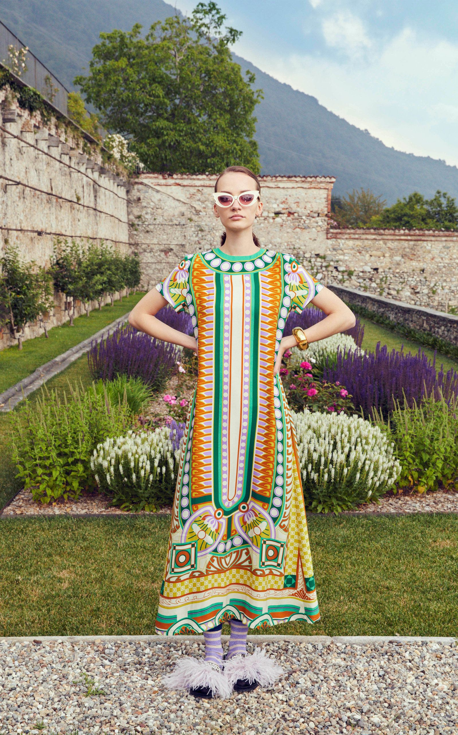 Printed Sateen Swing Dress By La Doublej Moda Operandi In 2020 Fashion Ladies Tops Fashion Fashion Show