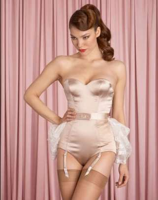 Demure Bridal Lingerie - The Agent Provocateur 2010 Bridal Collection is Elegantly Sultry