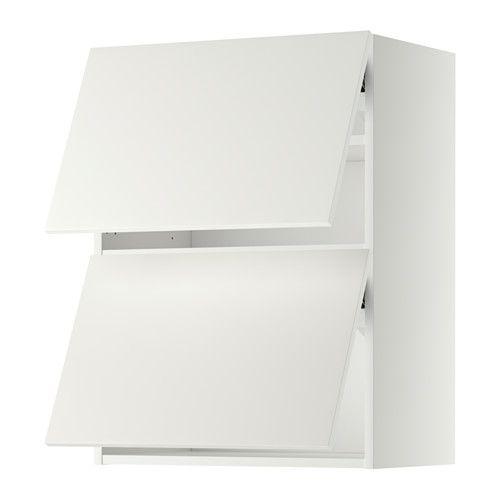 METOD Wandschrank horiz m 2 Türen, weiß, Häggeby weiß Nursery - ikea küchen unterschränke