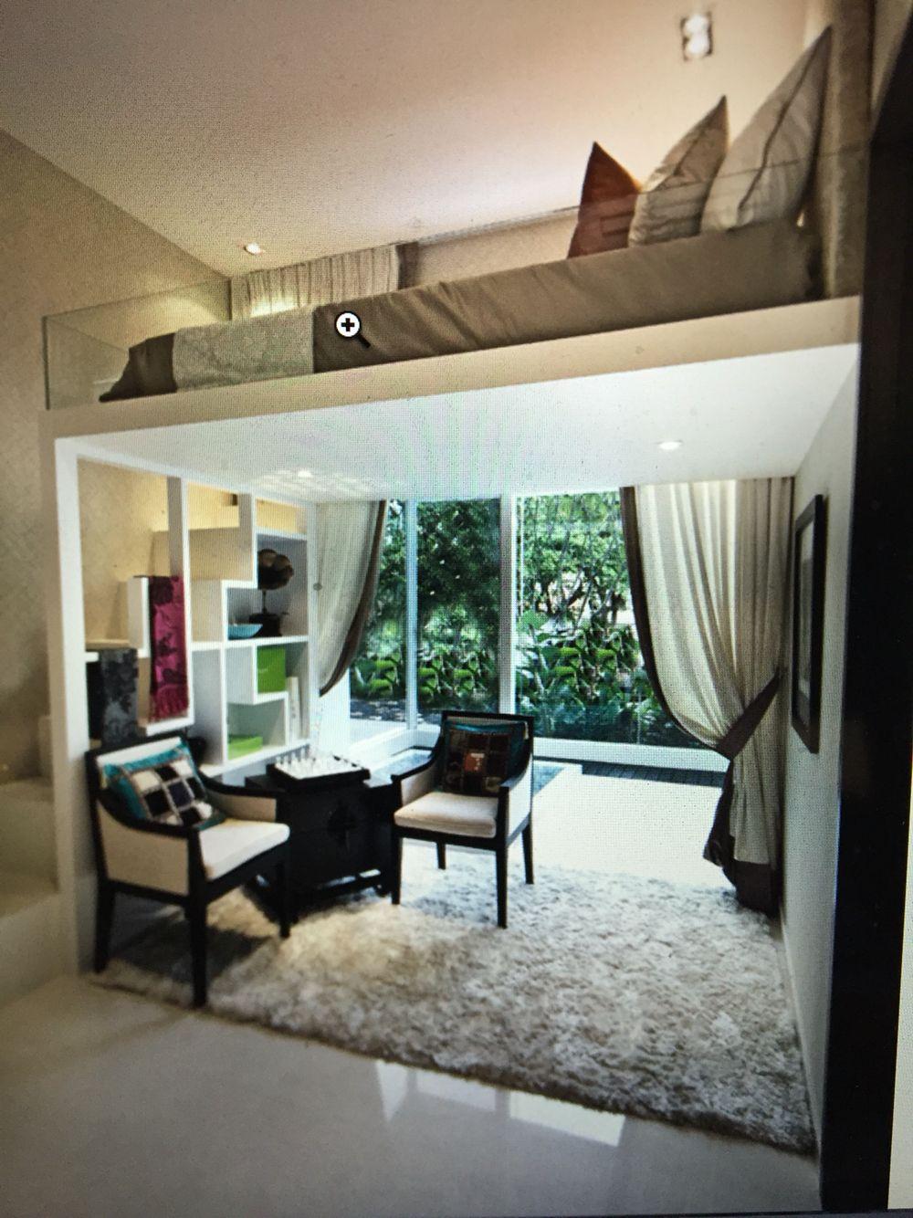 Great Mezzanine For A Studio Apartment