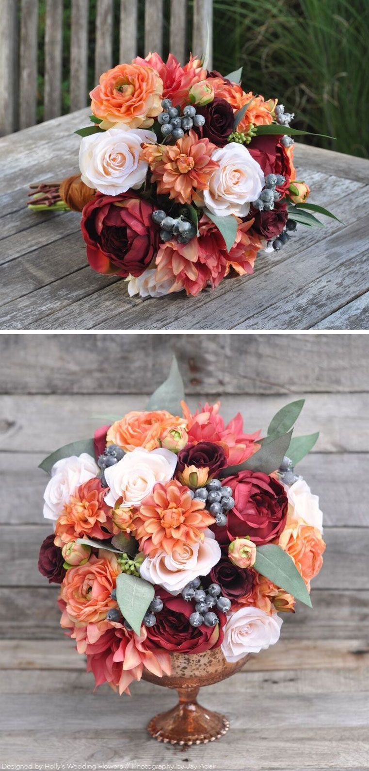 Fall Bridal Bouquet Fall Bouquets Wedding Centerpieces And