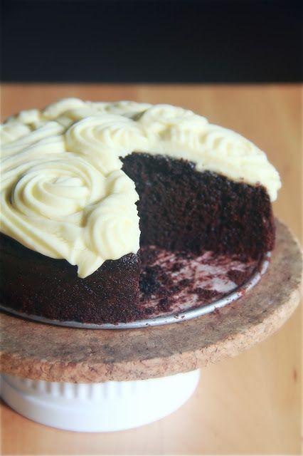 chocolate coconut milk cake