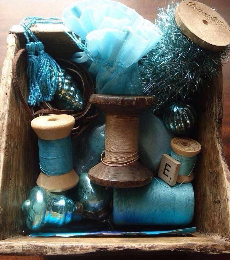 Türkis Blau, Himmelblau Und Hellblau