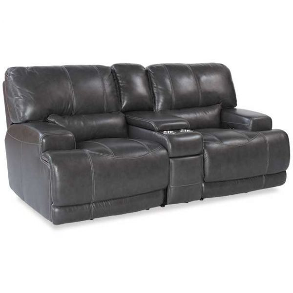 Afw Has An Amazing Selection From Simon Li Furniture Including The Charcoal Leather Power Recline Power Reclining Loveseat Love Seat Leather Reclining Loveseat