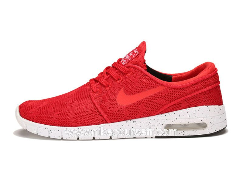 5906a64fd5c ... promo code for nike sb stefan janoski max chaussures pas cher pour homme  rouge 631303 661